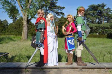 Legend of Zelda : Skyward Sword Two Times by LaraWegenaerArts