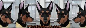 Doberman Mask by Plus3Defense