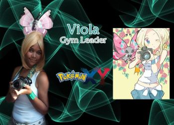 Gym Leader Viola Cosplay by Ahrinx1