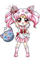 Sailor Chibi Moon by Chikukko