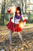 Sailor Mars Attack by BellaHime