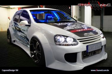 VW Golf Extreme by CaponeDesign