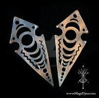 Lunar Mark - Monad Rising Talisman Collection by meddevi