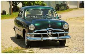 A 1950 Ford Custom by TheMan268