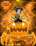 Orange Lantern Muffet by Parlinten