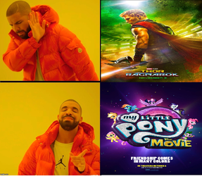Drake Approves Meme-My Little Pony The Movie 2017. by brandonale