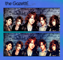 [tagwall] the GazettE - January 2013 by nigmatillium