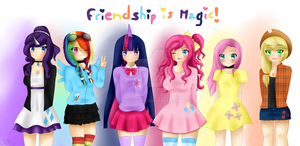 Friendship is magic ! - 2015 by Millefy