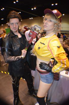 Megacon - Gladiolus and Cidney by NekoHybrid