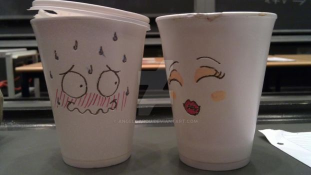 Kissable Cups by AngelGarou