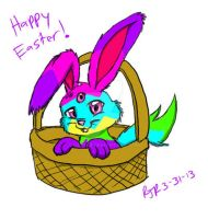 Happy Easter from Ziggers! by catgir