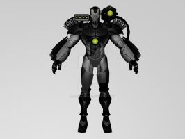 War Machine The Initiativa (MarvelFF 3DModel) by Pitermaksimoff