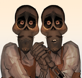 The twins by Biggsby