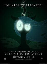 You Are Not Prepared - MLP Season 4 Promo Poster by OliveBranchMLP