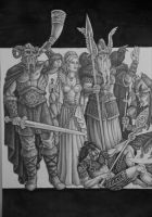 Quest for the Ancient Gods (part I) by SirSamael