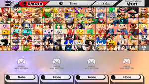 Ultimate Super Smash Bros. Dream Roster by Lucas-Zero
