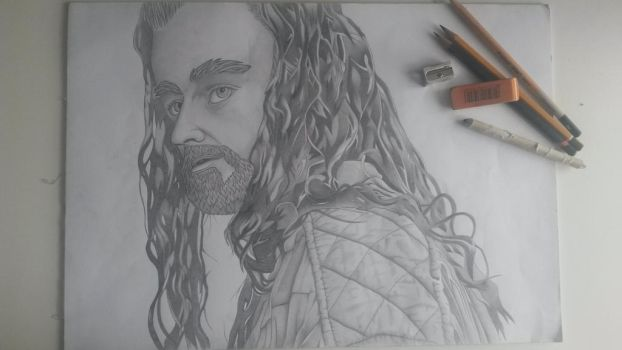 Thorin Oakenshield, King under The Mountain by Murtaghje