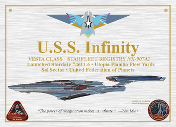 (For Sell, see details Below) Infinity Plaque by Lucario-Stl