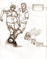 Italy v Germany by coldflame2525
