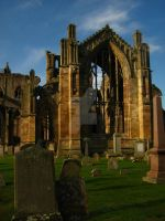 Melrose Abbey 05 by petra-gergely