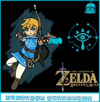 The Legend of Zelda Breath of the Wild by ThecLEMontCreator