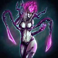 Evelynn Fanart by IncredFx-Music-Art