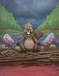 Beaver - commission by Chadwick-J-Coleman