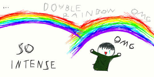 Double rainbow omg by Terry973