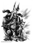 Chaos Lord by andreauderzo