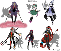 SOLO'S FAVORITE POKEMON Adopts round 1 [CLOSED] by azume-adopts