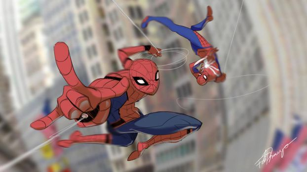 Spidermen! by Blackblader