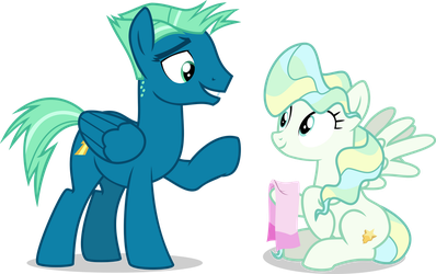 Sky Stinger and Vapor Trail by LimeDazzle