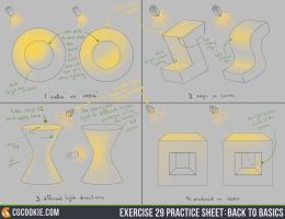 Exercise 29: Practice Sheet by CGCookie