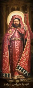 Pope Cyril IV Coptic Pope 110 by joeatta78