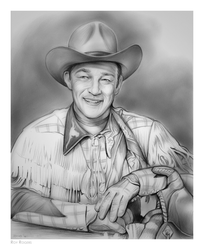 Roy Rogers by gregchapin