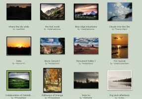 Sept submissions: 7th-9th by Scapes-club