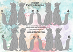 PYOP frilly dragon- batch 1 ONLY 10$ by Little-Noko