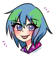 Earth Chan by sushiining