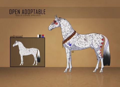Equine Adoptable [CLOSED] by brynora