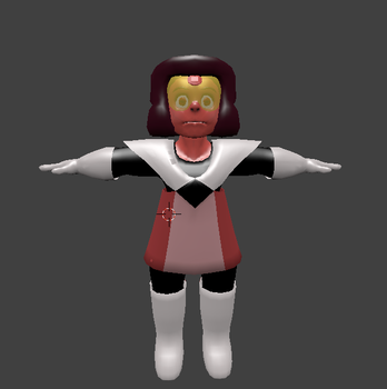 Captain Ruby MMD model W.I.P (gift) by narath32x
