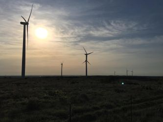 Texas Windfarm by JettTheWolf696