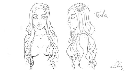 Teela's new look by Laura-Nagy