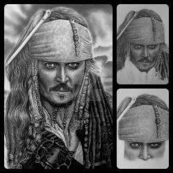 Jack Sparrow3 collage by HenryHolliday
