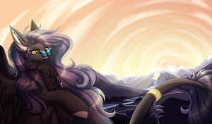Evening Enderheart :AT: [+Speedpaint] by InspiredPixels