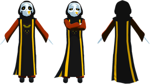 MMD AlterFell Sans (DL) by KittyNekkyo