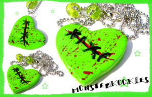 Wounded and Stitched Heart by monsterkookies
