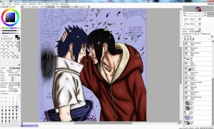 Uchiha brothers -WIP by DannyFCool