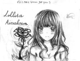 The rose bloom for you by chalollita