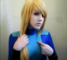 Samus Zero Suit 7 Cosplay- Metroid by sasukelove207