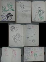 part of my pen sketches complilation by witch-girl-pilar